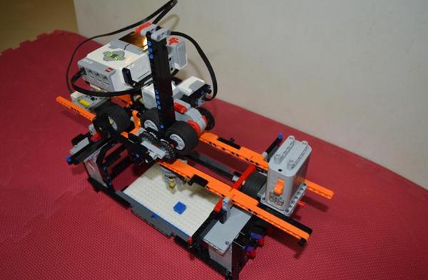 乐高积木搭建的3d打印机只打印乐高积木